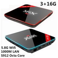 Amlogic S912 M9X III Android TV Box 6. 0 3G 16G 2. 4G 5GHz Wif...
