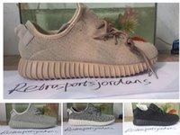 350 Kanye Milan Running Shoes yzy shoes boost oxford tan Men...