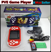 Wholesale PVE POCKET 6 2. 5 inch Handheld Game Player pve TV ...