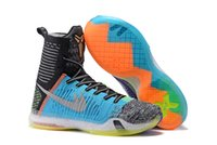 2016 New Kobe X Basketball Shoes Elite What The Color For Me...