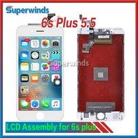 Grade AAA IPhone de qualité, 6s plus l'affichage à cristaux liquides de l'écran tactile Digitizer l'Assemblée complète IPhone6sp 5.5