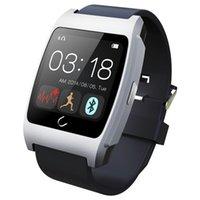 1.44inch емкостные часы Smart 128 * 128px 260mAh литий-ионный аккумулятор SmartWatches с Bluetooth 3.0 4.0 UX