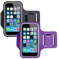 Pour Samsung S7 BRASSARD Case Eau Armband Résistant Sport avec porte-clés pour iPhone 6 6s Plus, Samsung Galaxy S5 S6 bord DHL SCA116
