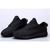 2016 originales Yeezy 350 Boost Pirate Black Fashion shoes M...