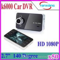 K6000 Car DVR Blackbox HD Cameras Video Recorder 1080P Full ...