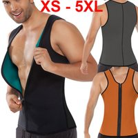5XL Plus Size Men' s Control Tank Top Sport Corsets Vest...