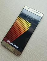 Goophone Примечание 7 1: 1 смартфон 5,7-дюймовый MTK6580 Quad Core 1G Ram 4GB Rom 1280 * 720 Show 3G барана 64G ром Android смартфон