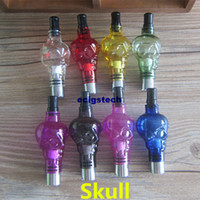 E Cigarette Skull Clearomizers Wax Herbs Skull Tank Atomizer...