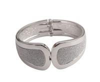 New Fashion 1 PCS Fashion Stardust Wide Bangle Cuff Bracelet