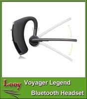 2016 Bluetooth Headset Voyager légende avec le texte et la réduction du bruit Écouteurs stéréo écouteurs pour Iphone Samsung Galaxy HTC
