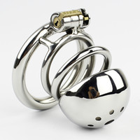 New Male Chastity Device 60MM Adult Cock Cage BDSM Sex Toys ...