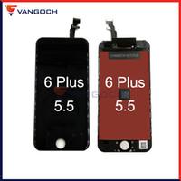 Pour iphone 6 plus écran LCD 5.5 pouces Écran tactile à écran tactile avec remplacement de cadre