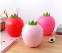 Candy Color Cute Creative Household Strawberry Shape Plastic...