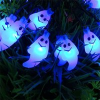 New Arrive 30 Led Ghost Solar String Lights Outdoor Solar St...