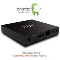X96 Android TV box Amlogic S905X Quad Core Android 6. 0 Marsh...