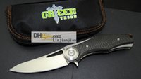 Titanium pocket knife, carbon fiber handle, high quality fol...