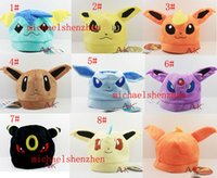 Poke plush Hat Pokémon Pocket plush caps for kids  Adult 8de...