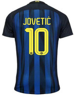 Thai Quality Soccer Jerseys Shirt TOPS, Customized 10 JOVETIC...