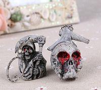 Skull keychains Handbag Pendant Car Key Chain Skull Doll One...