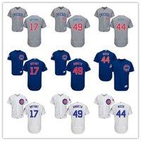 2016 Chicago Cubs Jersey Cool Base Baseball Jersey 17 Kris B...