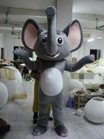 Adult Size grey Elephant animal Costume Halloween Christmas ...