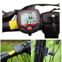 Quality Wired Waterproof Digital LCD Bicycle speed meter Bik...
