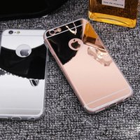 for Phone 7 Mirror Case Luxury Back Ultra- thin for samsung s...