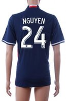 Thai Quality Customized 16- 17 new MENS 24 NGUYEN Soccer Jers...
