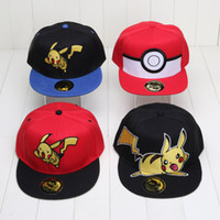5pcs set Pocket Center Cosplay Cap Pikachu Poke Go Hat charm...