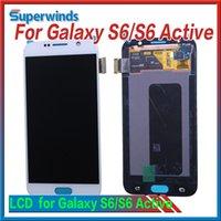 Pour les pièces de rechange de numériseur d'écran tactile d'écran tactile de Samsung de la galaxie S6 G920A G920T G920V G920P G920F libèrent DHL