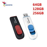 ADATA 64 GB 128 GB de cuero USB Flash Drive USB 2.0 Memory Stick Jump Pen Drive 128 GB 256 GB USB 2.0 128 GB USB 2.0 Flash Drive Memory Stick