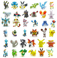 144 Style Poke Figures Toys 2- 3cm Multicolor Free DHL Childr...