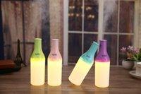 2016 Новый дизайн Protable Красочные Led Увлажнитель Эфирное масло Аромат Mist Диффузор автомобиля USB штепсельной вилки Увлажнитель