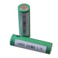 US18650V3 2200mAh литий-ионный аккумулятор с высоким потреблением тока 10Amp литий-ионная батарея литиевая аккумуляторная батарея для электронной сигареты