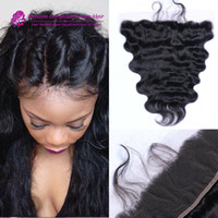 Top Quality 13*4 inch Lace Frontal Closure Brazilian Body Wa...