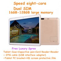 The new eight- core 12- inch Tablet PC Android tablet SIM call...