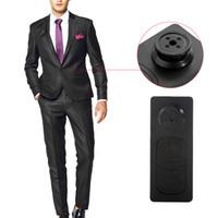 5pcs caméras cachées espion portable Bouton de sécurité espion enregistreur DV New Key Chain Design Mini Spy sténopé caméscope léger