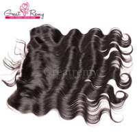 13*4 100% Brazilian Virgin Body Wave Top Closures Unprocesse...
