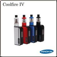 Innokin Coolfire IV TC 100 Kit avec Cool feu IV TC100 3300mAh TC 100W Mod Aethon Chipset 3ml iSub V Réservoir 100% Original