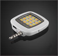 iblazr RK05 Nouveau téléphone mobile 16 lumière FLASH LED Mini selfie Sync lampe de poche pour iPhone 6 5s Galaxy lumières téléphone multiple photographie MQ100