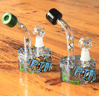 Nouveau design nouveaux dessins variété de couleurs ouchkick verre bong nouveau croquis bong tuyau d'eau Random sketch designs glass bubbler