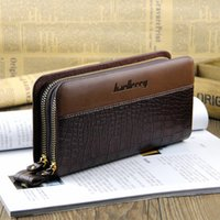 baellerry European and American casual men clutch wallet lon...