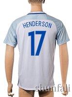 Customized 16- 17 European Cup England 17 HENDERSON Soccer Je...