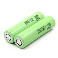 100pcs / серия Оптовая 18650 литиевая батарея 18650 30В 3000mAh цилиндрическая литий-ионный аккумулятор высокой разрядки аккумулятора
