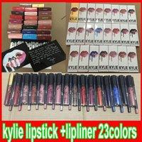 Latest 23 styles KYLIE JENNER LIP KIT lipliner Lip liner pen...