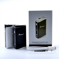 E vaporizador de la mod de la caja del kvapor m7 TC del cigarrillo de E contra el mini kit nano del topbox libera el envío