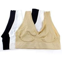 High Quality Seamless Bra Microfiber Pullover Bra Body Shape...