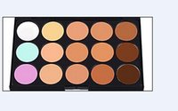 Hot New 15 Colors Beauty Pro Crème visage Maquillage Correcteur Contour Palette Kits Crème visage Maquillage Correcteur Palette Make up Set Outils