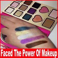 Сила макияжа от Eyeshadow Учебники Никки Face Palette Cosmestic Румяна Bronzer Highlighter палитра теней