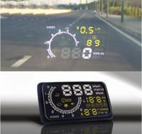 "Car Windshield Projector HUD 5. 5"" Head- up Display OBDII..."